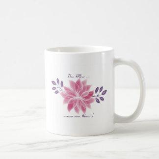 Mug Jolie fleur avec déclaration