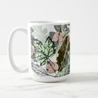 Mug Jolis botanicals ! couches de pêche/de feuille