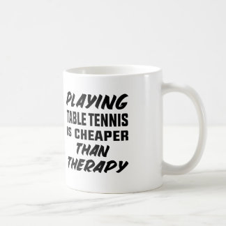 Mug Jouer au ping-pong est meilleur marché que la