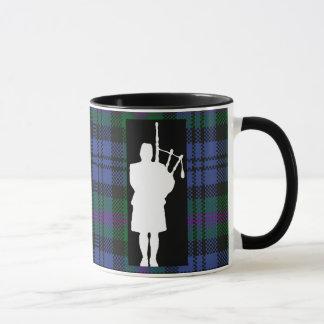 Mug Joueur de cornemuse écossais