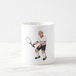 Mug Joueur de tennis supérieur