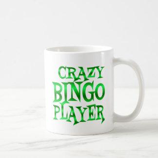 Mug Joueur fou de bingo-test en vert