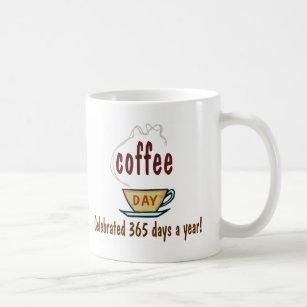 Célébré Par De Café 365 An Jours Mug Jour Aq54R3jcLS