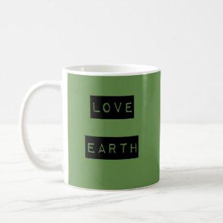 Mug Jour de la terre d'écologiste de la terre d'amour