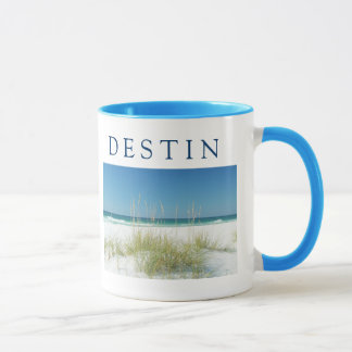 Mug Jour ensoleillé de plage d'avoine de mer de ~ de
