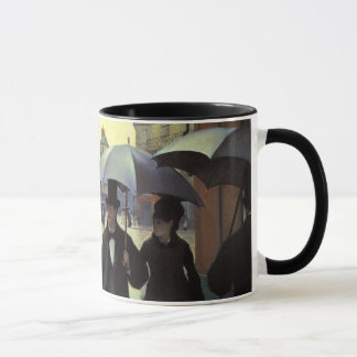 Mug Jour pluvieux de rue de Paris par Gustave