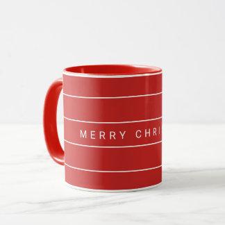 Mug Joyeux Noël moderne simple