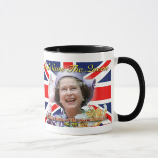 Mug Jubilé de diamant de S.M. la Reine Elizabeth II