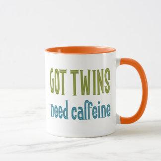 Mug JUMEAUX OBTENUS caféine du besoin
