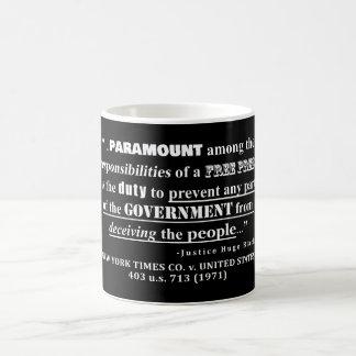 Mug Jurisprudence de citation de presse libre (1971)
