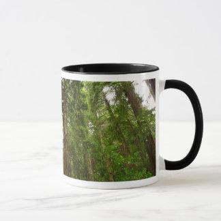 Mug Jusqu'aux séquoias au monument national en bois de