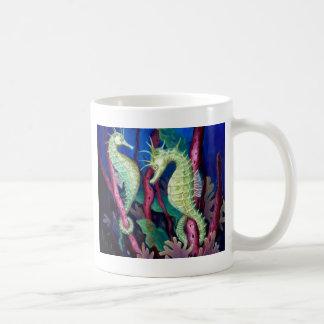 Mug Juste les deux de nous - art d'hippocampe