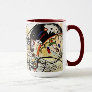 Mug Kandinsky - ligne transversale