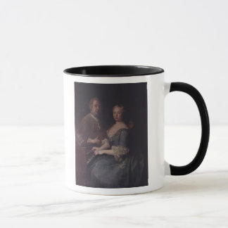 Mug Karl-Heinrich Graun et son épouse Anna-Louise