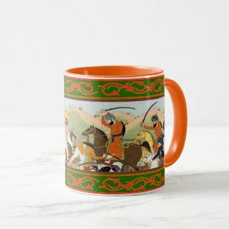 Mug Kaur - art historique sikh #2 - orange