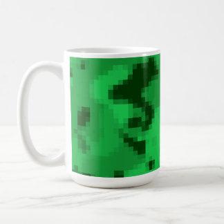 Mug Kelly Digital verte Camo ; Camouflage