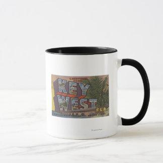 Mug Key West, la Floride - grandes scènes de lettre