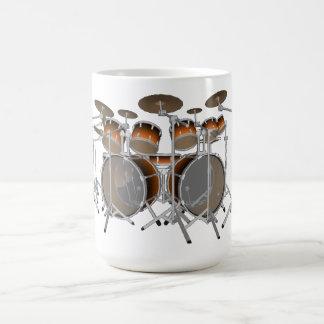 Mug Kit de tambour de 10 morceaux : Gradient orange :