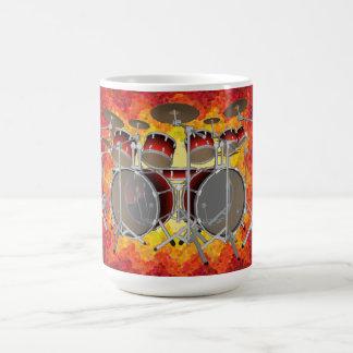Mug Kit et graphiques de tambour de 10 morceaux :