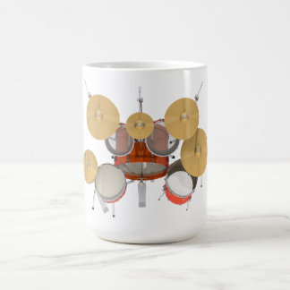 Mug Kit orange de tambour :