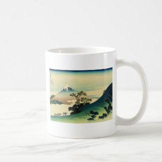 Mug Koshu Inume Toge - art de Katsushika Hokusai