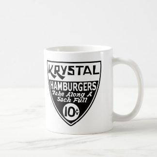 Mug Krystal bouclier de 10 cents