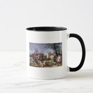 Mug La bataille de Fontenoy, le 11 mai 1745, 1828