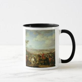 Mug La bataille de Lawfeld, le 2 juillet 1747