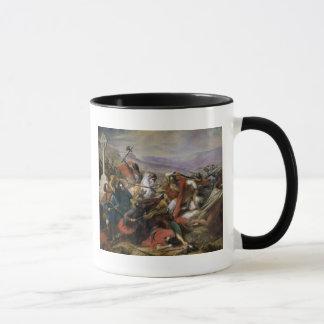 Mug La bataille de Poitiers, gagnée par Charles Martel