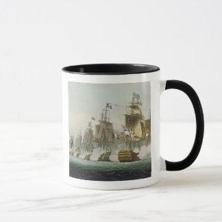 Mug La bataille de Trafalgar, le 21 octobre 1805,