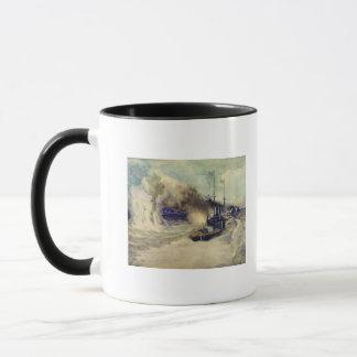 Mug La bataille entre la flotte de la Mer Noire et