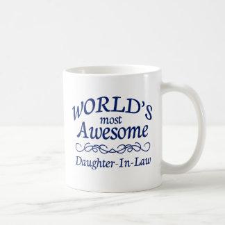 Mug La belle-fille la plus impressionnante du monde