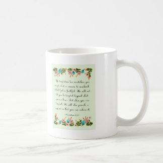 Mug La bible exprime l'art en vers - 1 10h13 de