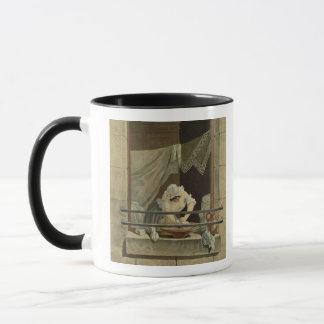 Mug La blanchisseuse, gravée par J. Laurent Julien (c1