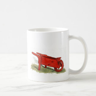 Mug La brouette rouge