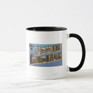 Mug La Caroline du Sud - grandes scènes de lettre