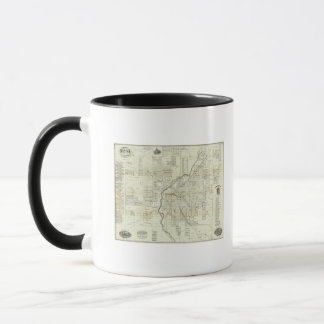 Mug La carte de Thayer de Denver le Colorado