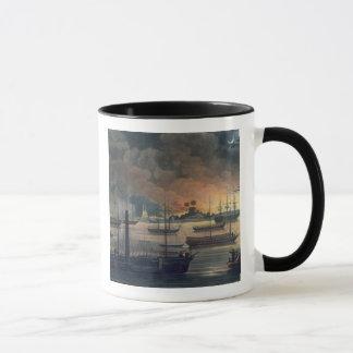 Mug La conflagration de Dalla sur la rivière de