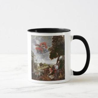 Mug La conversion de St Augustine, c.1663