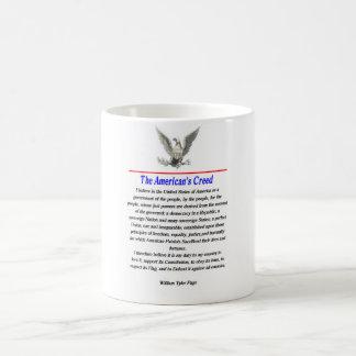 Mug La croyance de l'Américain