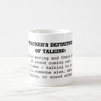 Mug La définition du professeur de parler