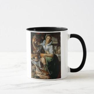 Mug La domestique de cuisine (avec le Christ, Mary et