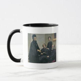 Mug La famille de Dubourg, 1878