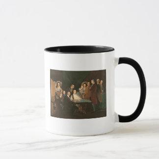Mug La famille d'Infante Don Luis de Borbon