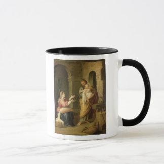 Mug La famille sainte, c.1660-70