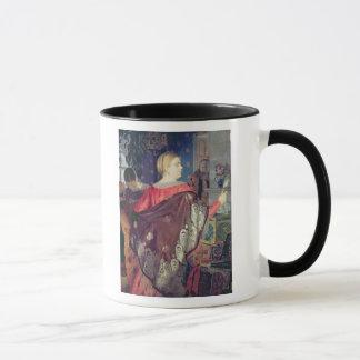 Mug La femme du négociant avec un miroir
