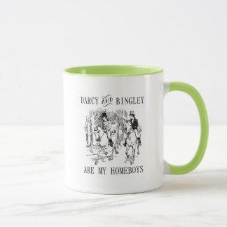 Mug La fierté et le préjudice Darcy et les Homeboys de
