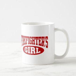 Mug La fille du sapeur-pompier