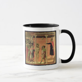 Mug La flagellation, du retable de Maesta