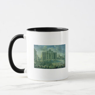 Mug La fontaine de TREVI à Rome, 1753-56